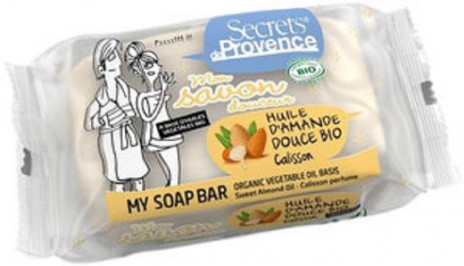 Secrets de Provence Jabón Bio Aceite de Almendras