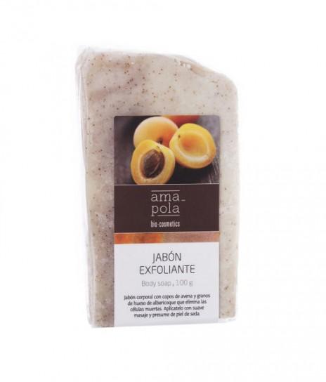 Amapola Biocosmetics Jabón Exfoliante de hueso de Albaricoque
