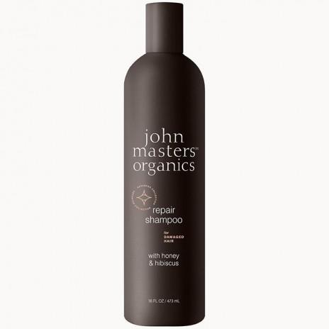 John Masters Organics Champú Reparador con Miel e Hibisco