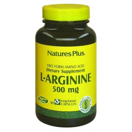 Nature's Plus L-Arginina 500 Mg