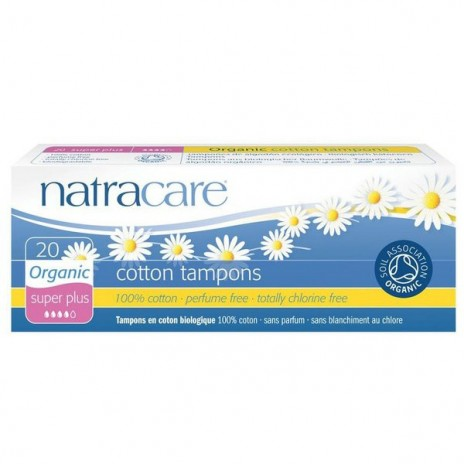 Natracare Tampón Super Plus sin Aplicador