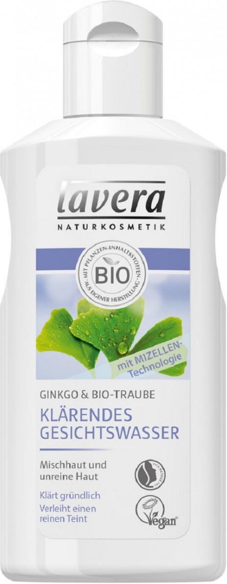 Lavera Tónico Facial Purificante con Gingko y Uva Bio