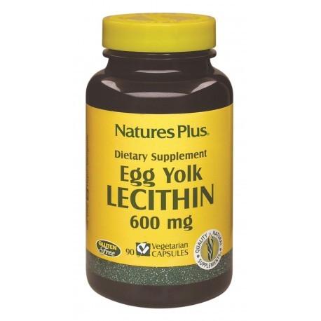 Nature's Plus Lecitina De Huevo 600 Mg
