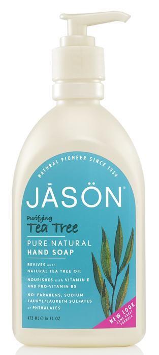 Jason Jabón Manos y Cara Árbol de Té