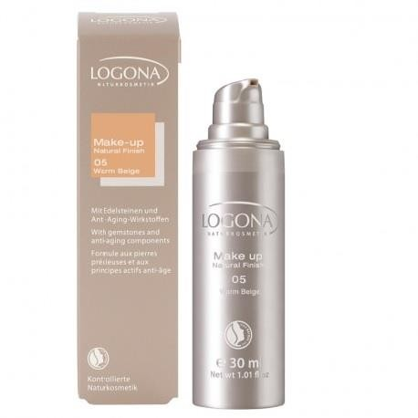 Logona Maquillaje Fluido Natural Finish Warm Beige 05