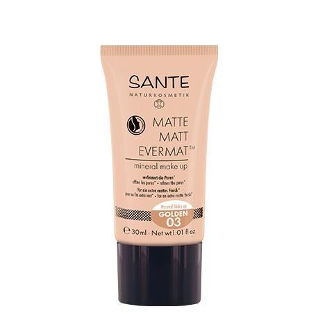 Sante - Maquillaje fluido mate evermat 03 Golden