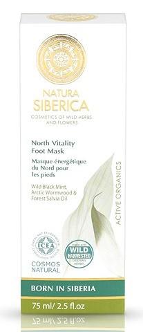 Mascarilla Para Pies Nórdica Energética - Cosmos Natural - Natura Sibérica