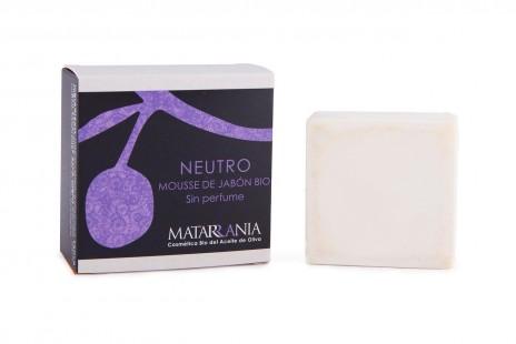 Matarrania Mousse de Jabón Bio Neutro Sin Perfume
