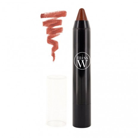 Miss W Lápiz de Labios Bio Twist 09 Brun Naturel