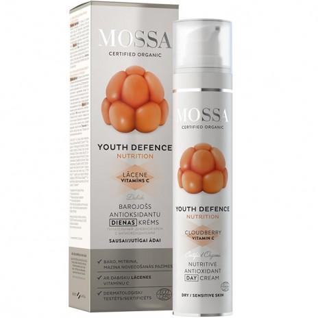 Mossa Youth Defence Crema Día Nutritiva Antioxidante
