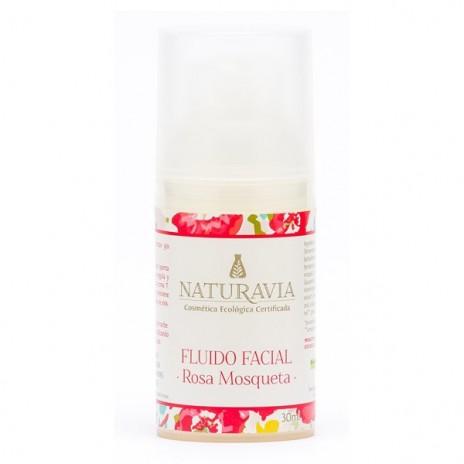 Fluido Facial Rosa Mosqueta - Naturavia