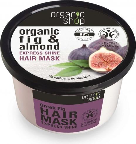 Organic Shop Mascarilla Capilar Brillo Express Higo Griego