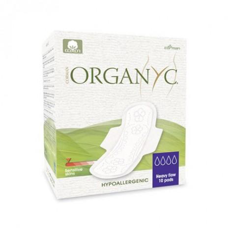 Compresa de Día con Alas 100% Algodón Orgánico - Organyc