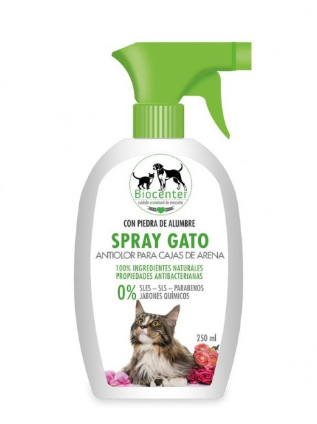 Biocenter Spray Gato Antiolor Caja de Arena