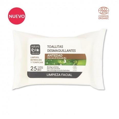 NaturaBio Toallitas Desmaquillantes Antiedad
