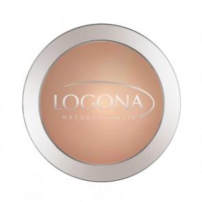 Maquillaje Polvo Compacto Sunny Beige 03  - Logona