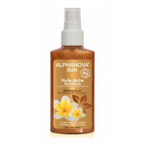 Alphanova Sun - Aceite Seco Radiante con Purpurina