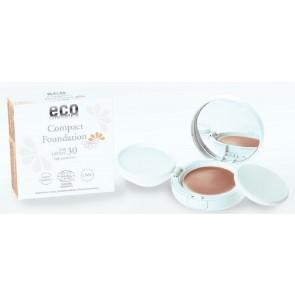 Eco Cosmetics Protector Solar base de maquillaje med beige