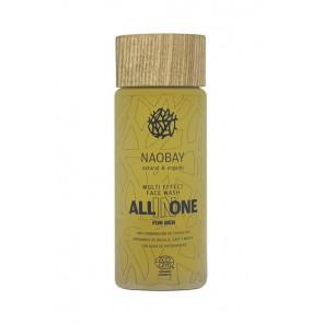 Naobay - All In One Gel Limpiador Facial para Hombre