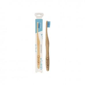 Nordics Oral Care Cepillo Dental Bambú Adultos Azul