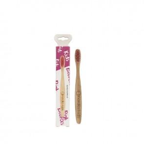 Nordics Oral Care Cepillo Dental Bambú Niños Rosa