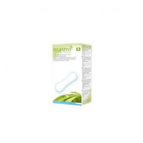 Masmi - Compresas anatomicas 100% algodón Masmi, 16 unidades