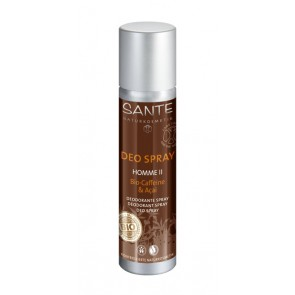 Desodorante Hombre Bio-Cafeína & Acai spray - Sante