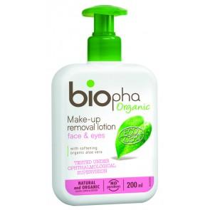 Biopha Organic Loción Desmaquillante