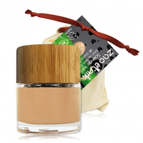 Zao Makeup - Maquillaje Fluido 710 - Pêche claro