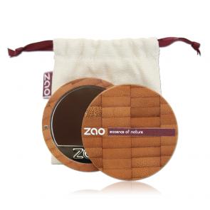 Zao Makeup - Maquillaje Compacto 740 - Acajou oscuro