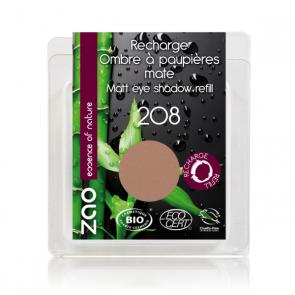 Zao Makeup - Recarga de Sombra de ojos Mate 208 - Nude