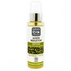 NaturaBIO Cosmetics Aceite Reductor Detox con Argán y Café Verde Bio