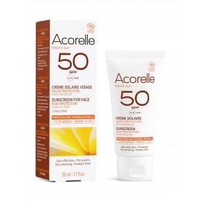 Acorelle Crema Solar Facial SPF 50