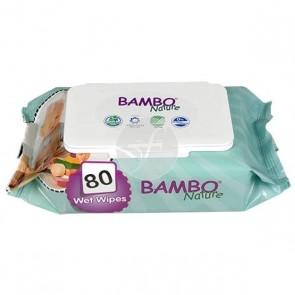 Bambo - Toallitas Húmedas Desechables para Bebé