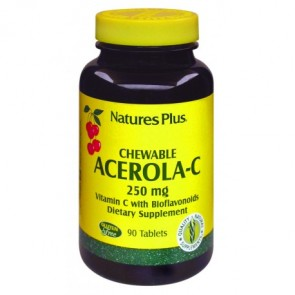 Nature's Plus Acerola C 250 Mg