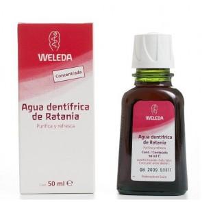 Agua Dentífrica de Ratania 50ml - Weleda