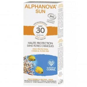 Alphanova Crema Solar Facial Hipoalergénica FPS 30
