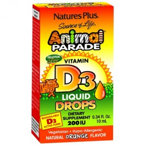 Nature's Plus Animal Parade Vit D3 Gotas