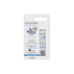 Logona -  Bálsamo Labial Hidratante Ácido Hialurónico & Kalpariane