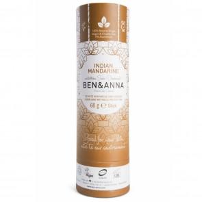Ben & Anna Desodorante Natural de Bicarbonato en Stick Indian Mandarine