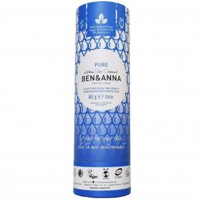 Ben & Anna Desodorante Natural de Bicarbonato en Stick Pure