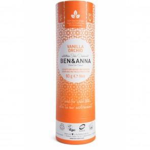 Ben & Anna Desodorante Natural de Bicarbonato en Stick Vanilla Orchid