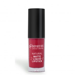 Benecos Labial Líquido Mate Bloody Berry