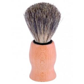 Redecker Brocha de Afeitar de Madera de Haya y Pelo de Tejón