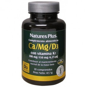 Nature's Plus Ca Mg D3 y K2