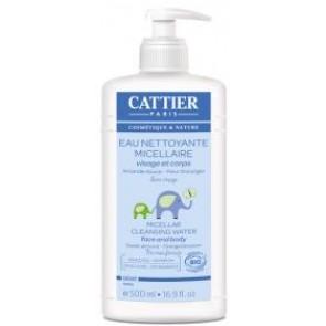 Agua Limpiadora Micelar cara y cuerpo Bebé - Cattier