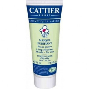 Cattier Mascarilla Purificante Tea Tree