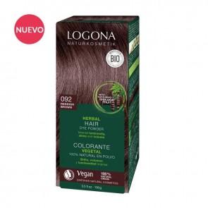Logona Colorante Vegetal 092 Castaño Café Henna Bio