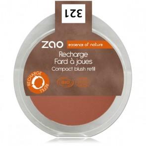 Zao Makeup - Recarga Colorete 321 Brun Orange
