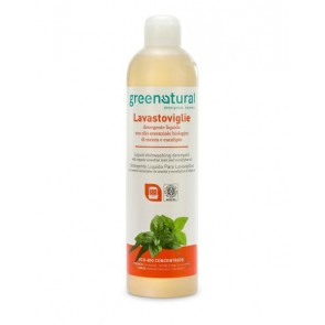 Green Natural - Gn Detergente Liquido Para Lavavajillas Menta & Eucalipto Ecobio
